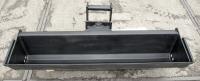 Baggerschaufel hydraulisch für Radlader, Minibagger, schwenkbar MS01 1,2m