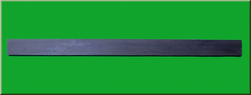 Gummilippe Schürfleiste für Schneeschieber 75cm Faserverstärkung Gummileiste