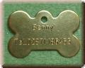 Hundemarke, Katzenmarke, Tieranhänger, Namensschild 20