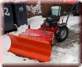 Scheeschieber, Schneeschild Räumschild für Einachser