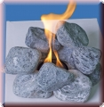 Dekosteine für Gelkamin blue stone