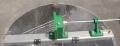 Honigschleuder 4 Waben aus Edelstahl, Tangentialschleuder, mit Handantrieb