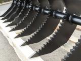 Roderechen, Wurzelrechen, Baggerharke in verschienden Gößen gezackt 30-150cm