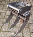 Roderechen, Wurzelrechen, Baggerharke in verschienden Gößen gezackt 20mm 30-150cm