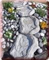 Bachlauf, Wasserspiel 4 teilig Granit